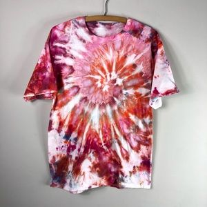 Tops - NEW Tie Dye Hand Dyed Colorful Tee Shirt Cotton842